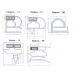 Ущільнювальна гума для дверей холодильника за Вашими розмірами