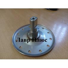 Фланець барабана, ведучий, Electrolux під 203 підшипник (нержавійка 1,3 мм) для пральної машини