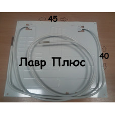 Випарник для холодильника 40*45 2-х патрубковый 1м +2 метри