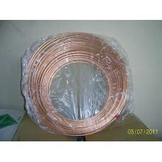 Мідна труба 1/4 для кондиціонера (6,35 / 0,76 мм) Halcor , ГРЕЦІЯ на відріз