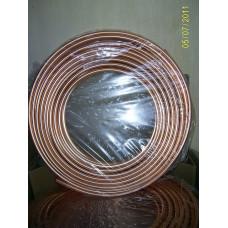 Труба мідна 1/2 для кондиціонера (12,7 / 0,81 мм) Halcor , ГРЕЦІЯ на відріз