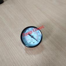 Манометр 310500106 мановакуумметри діаметр 50 мм . Черн . Під'єднання ззаду. Вакуумметр.