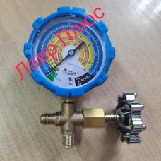 Манометричний колектор одновентильный НЅ-466AL R-600, низький тиск (00464 )