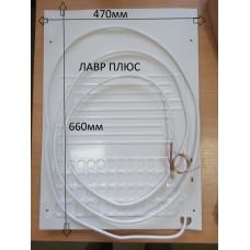 Випарник для холодильника (плачучий випарник 1-но канальний) 470*660мм