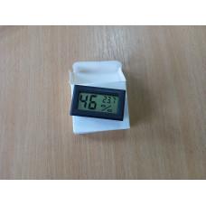 Термометр-гігрометр електронний L563 чорний (вбудовується) (-40...+70) КИТАЙ