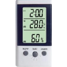 Термометр-Гігрометр DT-2 з додатковим виносним датчиком температури і годинами