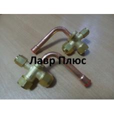 """Сервісний кран для кондиціонерів 3/4""""(19,05 мм) 90 градусів"""