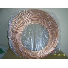 Труба мідна 5/8 (15.88 / 0,89 мм) , бухта 15 м. Halcor , ГРЕЦІЯ